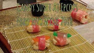 Rainy day at Food & Wine | Candy Sushi
