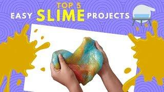 How To Make Slime Easy  (Best recipe videos with different ingredients)