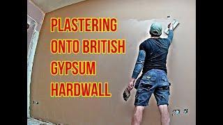 Learn How To Plaster (Plastering Onto BG Hardwall)