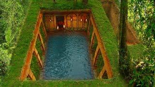Build The Most Awesome Underground  Swimming pool With  Underground House
