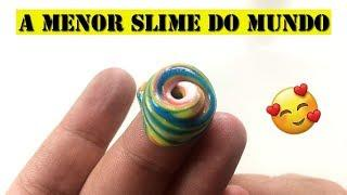 COMO FAZER A MENOR SLIME DO MUNDO I HOW TO MAKE THE LITTLE SLIME IN THE WORLD - ANTONI CALDAS