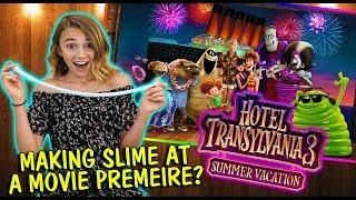 MAKING SLIME AT A MOVIE PREMIERE | We Are The Davises