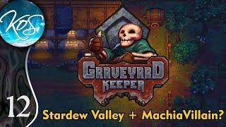 Graveyard Keeper Ep 12: BEGINNING WINE - (Alpha) First Look - Let's Play, Gameplay