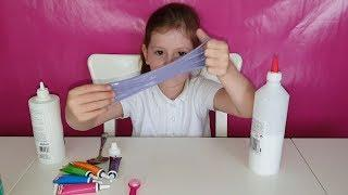 How to Make Slime with Glue, Baking Soda and Contact Lens Solution