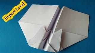 Paper Airplane #Challenge For Kids | Learn How to make a paper airplane that flies far 999 feet