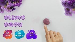 Cara Membuat Slime Dari Tepung Sagu