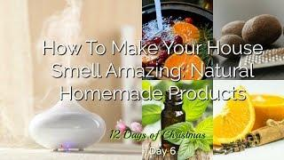 How To Make Your House Smell Amazing: Natural Homemade Products | Day 6