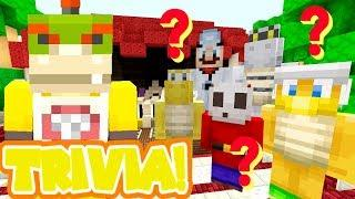 Minecraft | Nintendo Fun House | Bowser Jr's Trivia Game Show! [435]