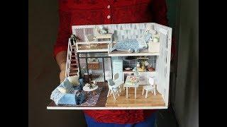 5 DIY Miniature Dollhouse Room | DIY Rapunzel dollhouse | DIY H