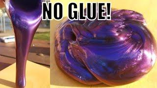 ????HOW TO MAKE SLIME WITHOUT GLUE OR ANY ACTIVATOR! ????NO BORAX! NO GLUE!