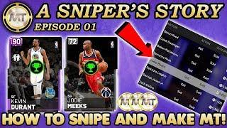 HOW TO SNIPE AND MAKE MT IN THE AUCTION HOUSE! NBA 2K19 A Sniper's Story Ep. 1