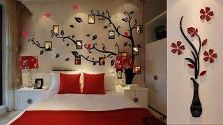 Top 45 Bedroom Wall Decorating Ideas || Beautiful Painting Colour Combination For Bedroom