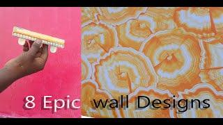 8 Epic Texture designs for interior wall painting  Tips and Tricks