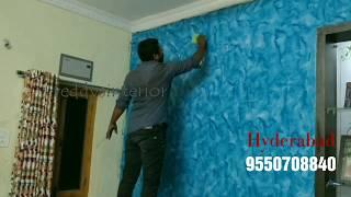 wall painting Royale Play design for Asian Paints