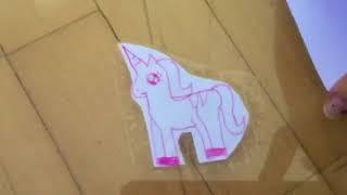 How to make stickers ????????!! Super easy and you can make it out of things around your house ????