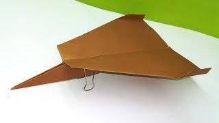 Paper Airplanes That Fly Far | Origami Plane Make very Easy - Diy - Paper Crafts