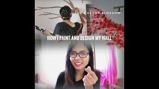 Wall Painting: I paint my room vlog