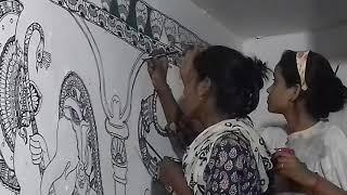 Madhubani ,wall painting