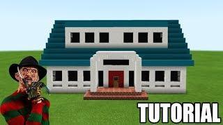 "Minecraft: How To Make Freddy Krueger House ""a Nightmare On Elm Street"""