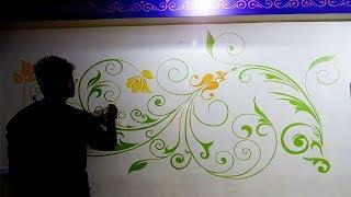 wall painting ideas | hall wall painting by ganesh punekar | create creative