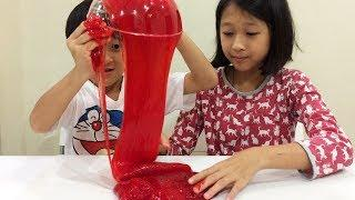 How to make slime by just 4 easy steps.. Fun Time With Toys Wonderland
