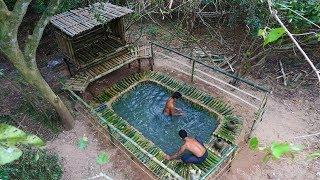 Building Swimming Pool And House (Bamboo 100%)