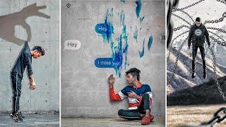 Picsart painting wall chatting Photo editing | 2019 Latest edition in Picsart | picsart editing