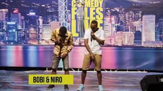 BEBE COOL NE BOBI WINE BEGUDDEKO MU WASHROOM, BOBI & NIRO, COMEDY FILES UG