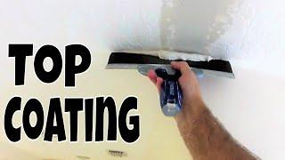 Top Coating over the 20 Minute Mud- Diy Drywall Repair Tips and Tricks