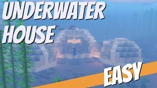 How to Make an Underwater House in Minecraft | Minecraft Underwater House Pod Tutorial Avomance 2019