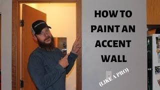 How to Paint an Accent Wall Like A Pro