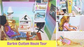 Barbie Single Girl House Tour Home Tour