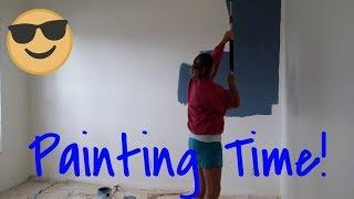 Painting the house do you like it?  Shop with us at Target! Vlogmas 2018