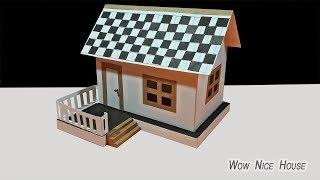 How To Make Beautiful Paper House Dream House DIY Paper Dream House