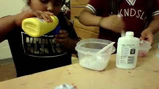 how to make slime with only 2 ingredients