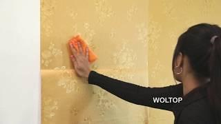 WolTop Wall Stickers Wallpaper Installation Instructions (DIY)