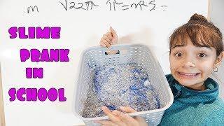 SCHOOL SLIME PRANK ON TEACHER!!!