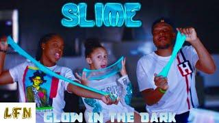 HOW TO MAKE SLIME | GLOW IN THE DARK SLIME EXPERIMENT