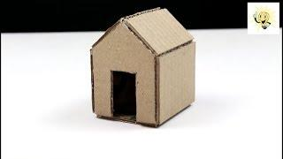 How to Make A Cardboard House (With Dimensions) In 2 Minute | Ideas |Crazy