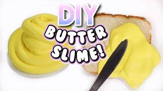 DIY BUTTER SLIME WITHOUT BORAX! Easy Butter Slime Recipe! | DIYholic