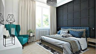 Gray color in the interior - beautiful, stylish, modern   Home Painting Design