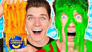 Mystery Wheel of Slime Challenge 2 w/ Funny Satisfying DIY How To Switch Up Game