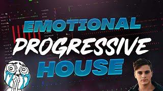How to make Emotional Progressive house Track - Fl Studio Tutorial