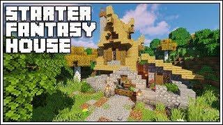 Minecraft 1.14 Starter Fantasy House