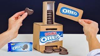 How To Make a Simple OREO Vending Machine With Card!