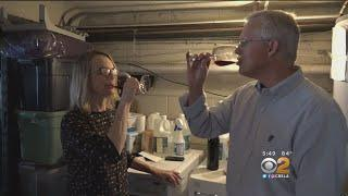 Brentwood Couple Making Wine In Their Garage