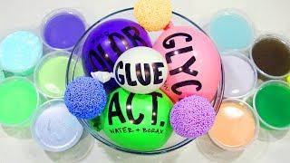 Making Slime with Balloons & Mixing My Old Slime to Make a Huge Slime Smoothie!