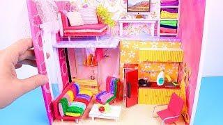 DIY Miniature Loft Dollhouse