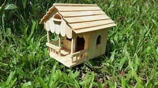 How to Build a Simple Popsicle Stick House for a School Project