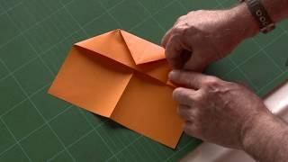 Andy Chipling - How to make the best paper aircraft (Crazy Stunt Special) in the World
